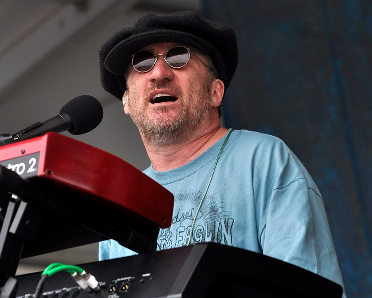 Jon Cleary & The Absolute Monster Gentlemen performing at the New Orleans Jazz & Heritage Festiaval on May 3, 2009.