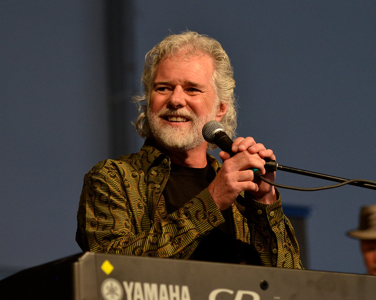 NEW ORLEANS, LA-APRIL 27: Chuck Leavell performs at the New Orleans Jazz & Heritage Festival in New Orleans, LA on April 27, 2012. (Photo by Clayton Call/Redferns)