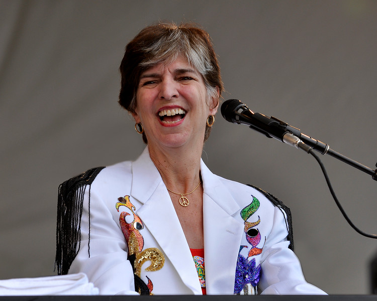 Marcia Ball performing at the New Orleans Jazz & Heritage Festival on May 1, 2009.