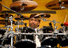 Carter Beauford with the Dave Matthews Band at Jazzfest 2006.