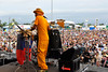 Cyril Neville performing with the Neville Brothers at the New Orleans Jazz & Heritage Festival on May 3, 2009,