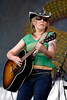 Lucinda Williams performs at the New Orleans Jazz & Heritage Festival on April 27, 2007.