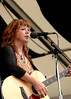 Susan Cowsill perfoming at the New Orleans Jazz & Heritage Festival on May 6, 2006.