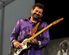 NEW ORLEANS, LA-APRIL 24: Tab Benoit performs at the New Orleans Jazz & Heritage Festival on April 24, 2010. (Photo by Clayton Call/Redferns)