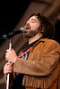 Adam Duritz and Counting Crows perform at the New Orleans Jazz & Heritage Festival on May 4, 2007.