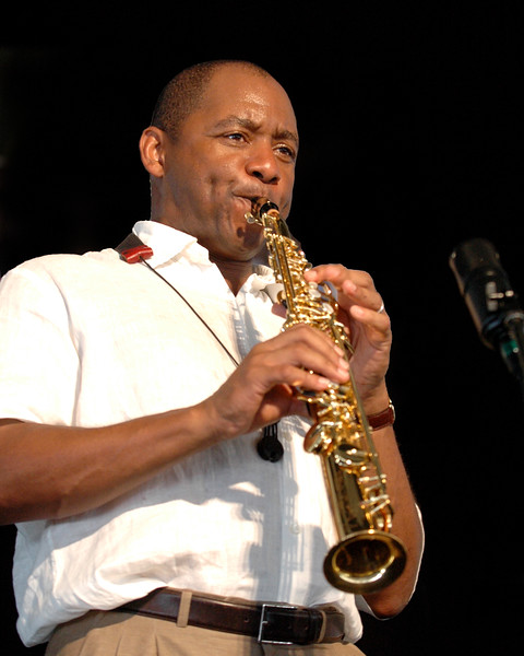 Branford Marsalis performs at the New Orleans Jazz & Heritage Festival on May 6, 2007.