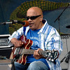 Snooks Eaglin perfoming at the New Orleans Jazz & Heritage Festival on April 29, 2006.