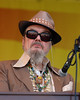 NEW ORLEANS, LA-APRIL 25: Dr. John performs with the Voice of the Wetlands All-Stars at the New Orleans Jazz & Heritage Festival on April 25, 2010. (Photo by Clayton Call/Redferns)