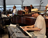 NEW ORLEANS, LA-APRIL 24: Davell Crawford performs with special guests at the New Orleans Jazz & Heritage Festival on April 24, 2010. (L-R): Davell Crawford, Dr. John, Jon Cleary. (Photo by Clayton Call/Redferns)