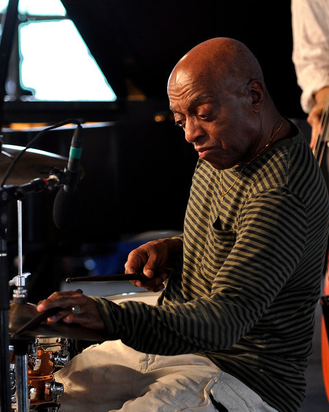 Roy Haynes performing at the New Orleans Jazz & Heritage Festival on April 24, 2009.