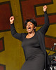 NEW ORLEANS, LA-APRIL 25: Anita Baker performs at the New Orleans Jazz & Heritage Festival on April 25, 2010. (Photo by Clayton Call/Redferns)