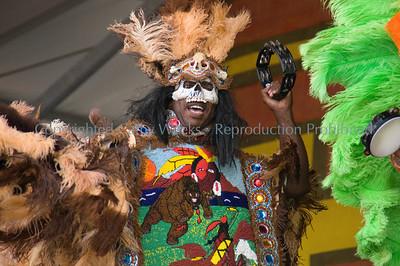 Geronimo Hunters Mardi Gras Indians