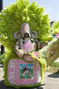 SUNDAY PHOTO OF THE DAY: Mardi Gras Indians; Mardi Gras Indians Super Sunday 2008