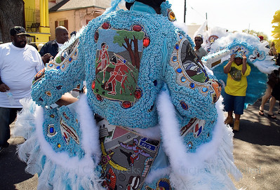 PHOTO OF THE DAY: Mardi Gras Indians; Mardi Gras Indian Super Sunday 2008