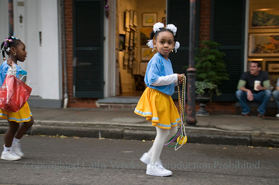 PHOTO OF THE DAY: Mardi Gras New Orleans; McDonogh's #15 Children's Parade