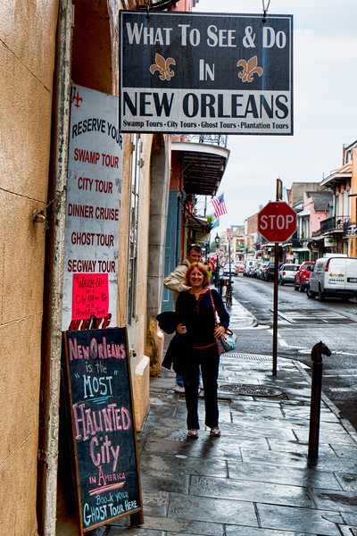 Typical Street in the French Quarter