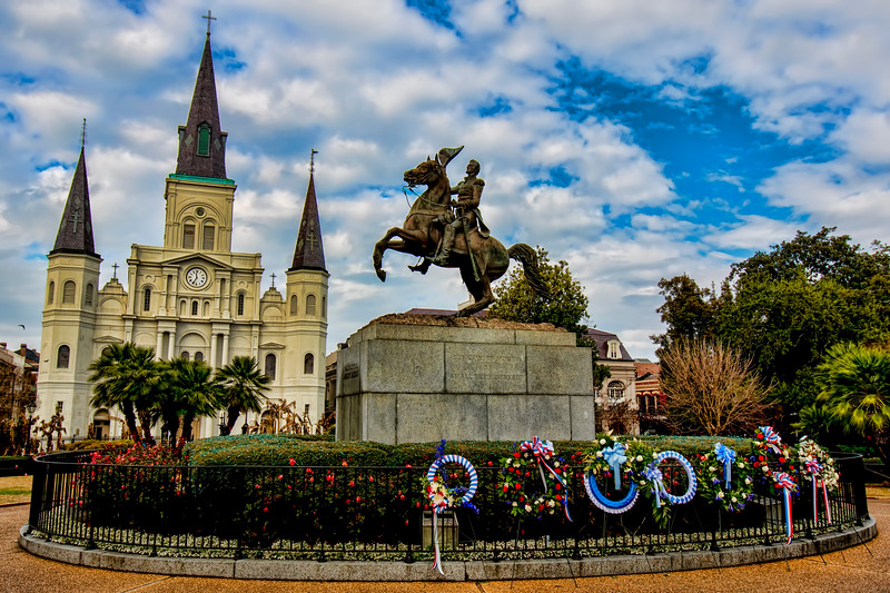 Andrew Jackson and St. Louis Cathedral