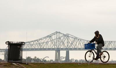 el puente en bici