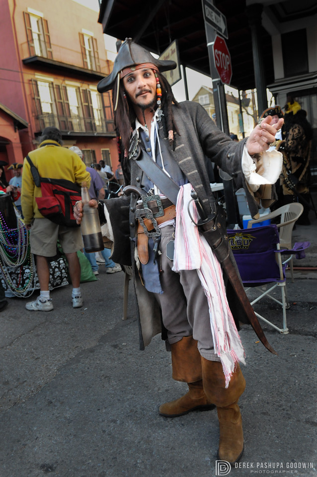 Captain Jack Sparrow Pirate Parade 2010