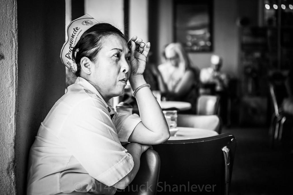 Break time at the Cafe Du Monde