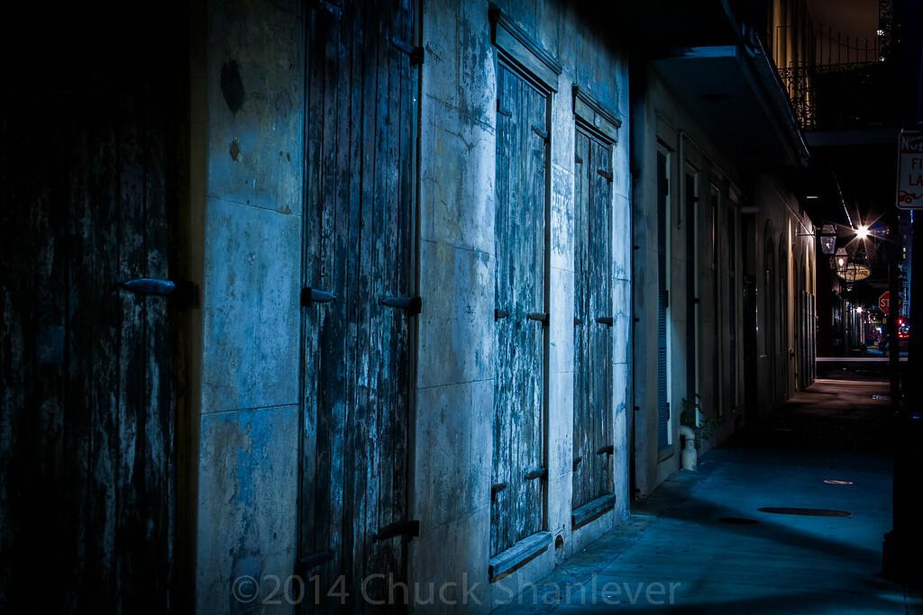Night Street Blue