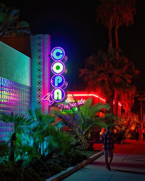 Tiki Night Vibes in Palm Springs