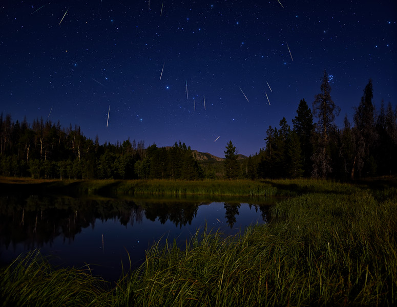 Reflecting on 2016's Perseid Meteor Shower
