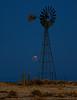 Morning Lunar Eclipse on the Prairie