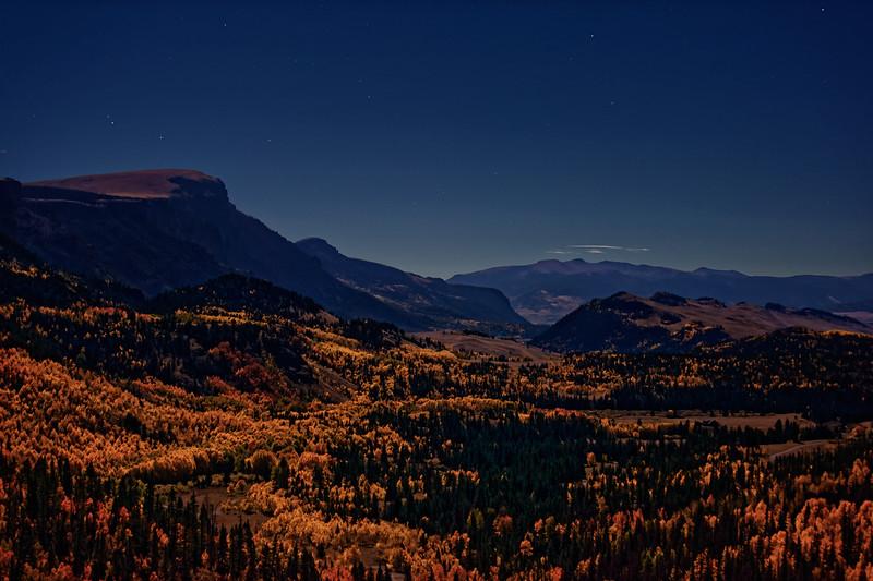 Lunar Lit Autumn