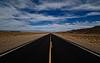 Vanishing into Nevada's Basin and Range Country