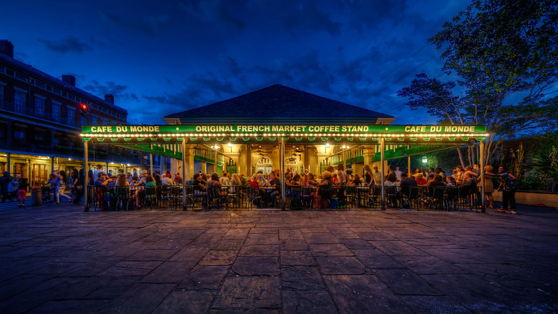 One Evening at the Café Du Monde