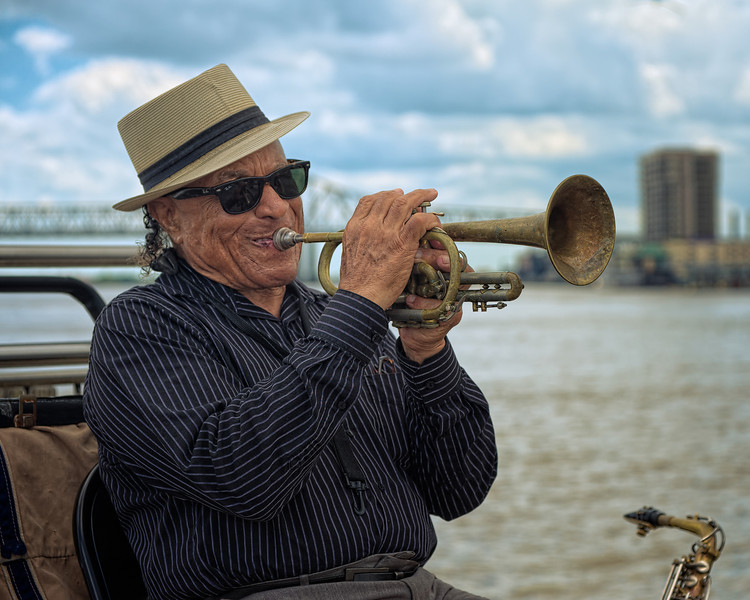 James May (AKA Doc Saxtrum), New Orleans Street Maestro