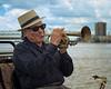 James May (AKA Doc Saxtrum), New Orleans Street Maestro
