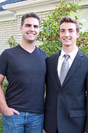Matthew and Daniel...