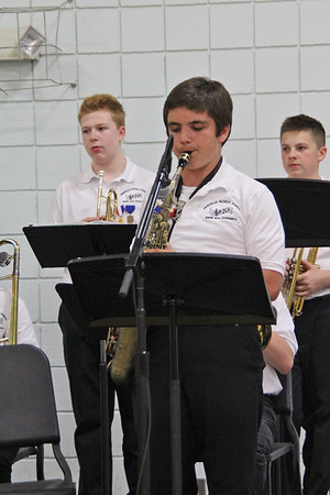 David's Solo at the Spring Concert...