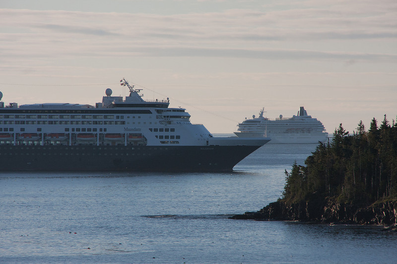 Cruise Ships at Bar Harbor