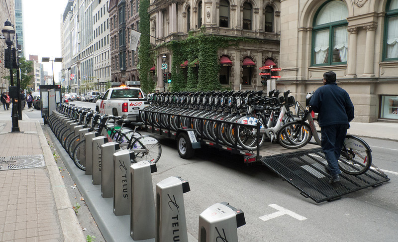 Bixi - Public Bicycle sharing system  - Montreal