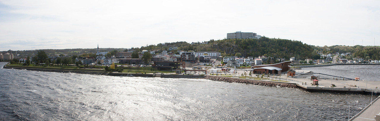 Saguenay at high tide