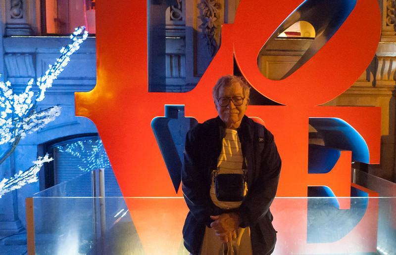 Ben in Front of Hotel - Montreal