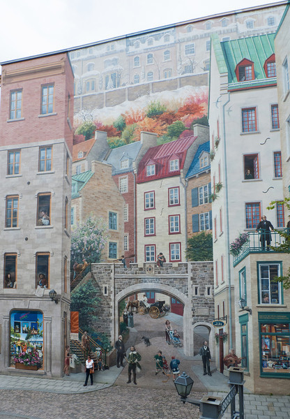 La Fresque des Quebecois -  by Helene Fleury, Marie-Chantal Lachance and Pierre Laforest