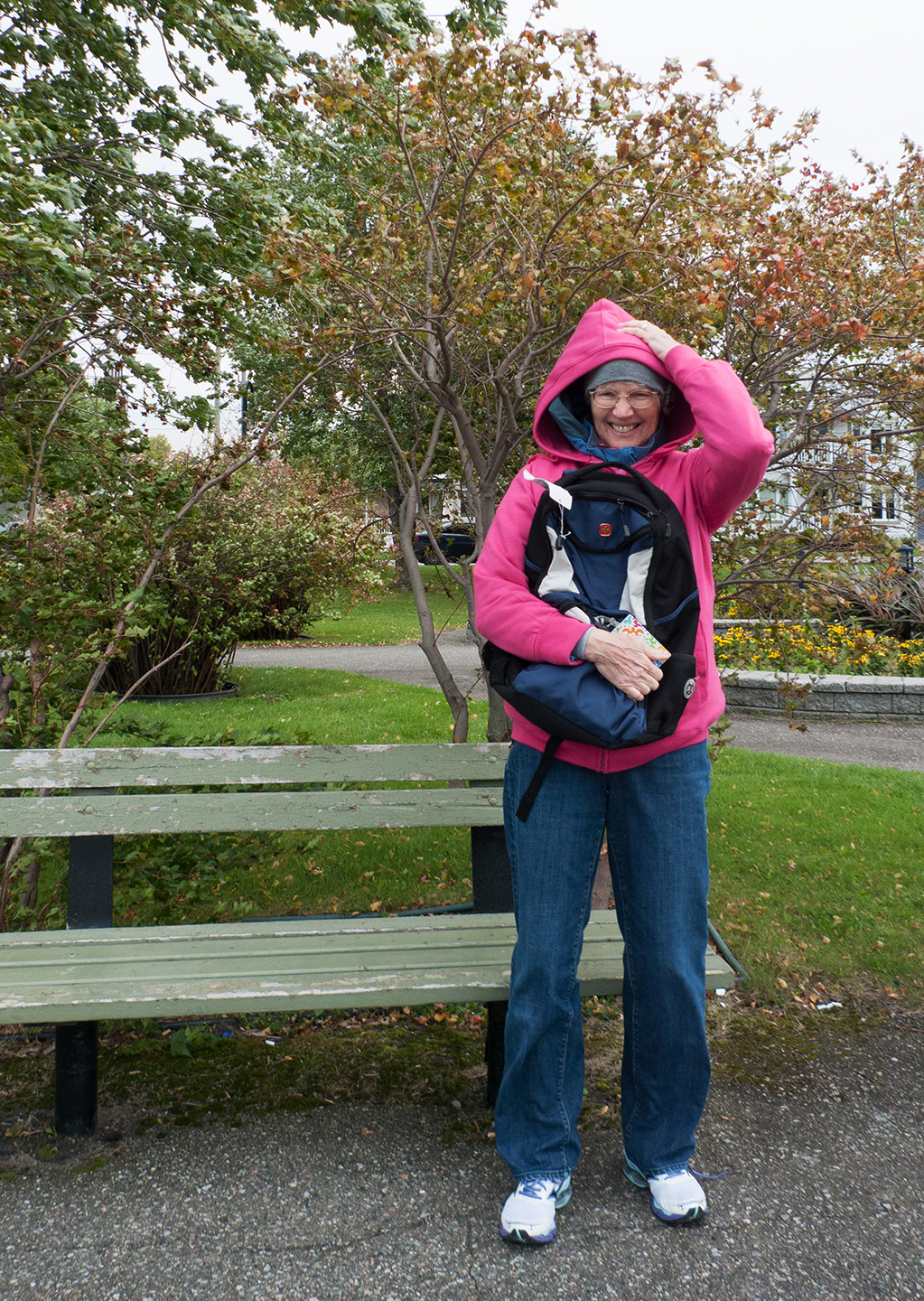 "Mary in ""Moderate Gale."" Saguenay"
