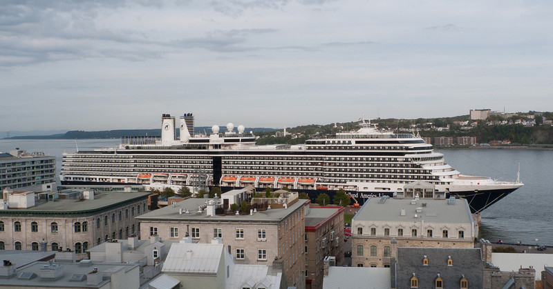 The Cruise Ship in Quebec