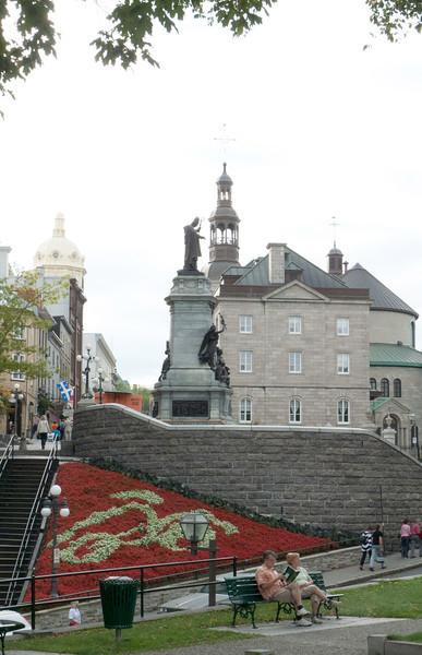 Statute of Franois de Laval - Quebec City - First Bishop of Quebec