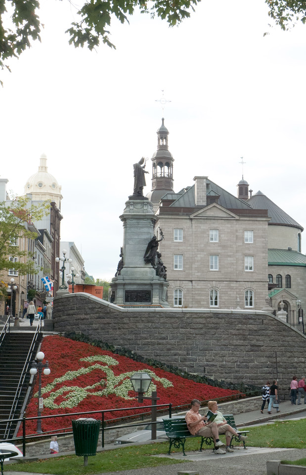 Statute of Franois de Laval - Quebec City - First Bishop of Quebec