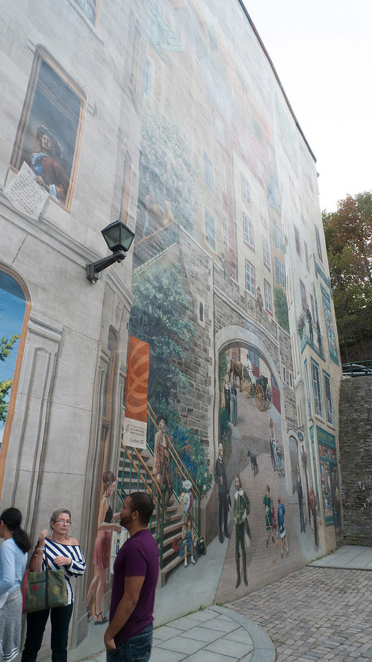 La Fresque des Quebecois - by Helene Fleury, Marie-Chantal Lachance and Pierre Laforest