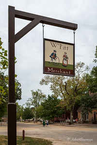 Sign for William Pitt, Merchant