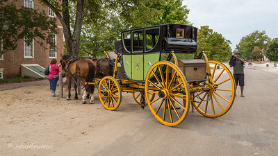 Coach & Horses Attract Attention - at Roscow Cole House
