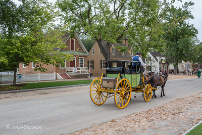 Colonial Williamsburg, by Street