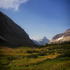 Along the Siyeh Pass Trail