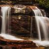 A random waterfall I saw while hiking